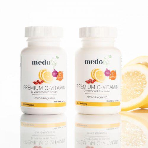 Medolife PRÉMIUM C-VITAMIN + D + CINK DUO csomag